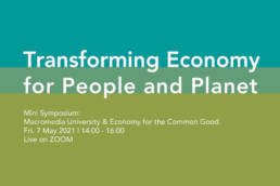 Economy for Common Good, Prof. Oliver Szasz, Macromedia University