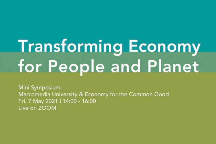 Economy for Common Good, Prof. Oliver Szasz, Macromedia University