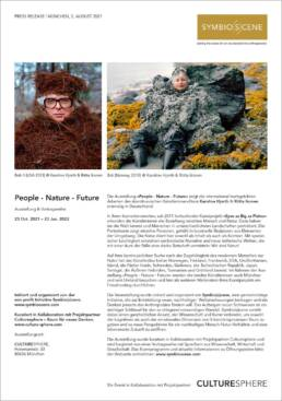 People-Nature-Future, Symbioscene, Culturesphere, Karoline Hjorth, Riitta Ikonen